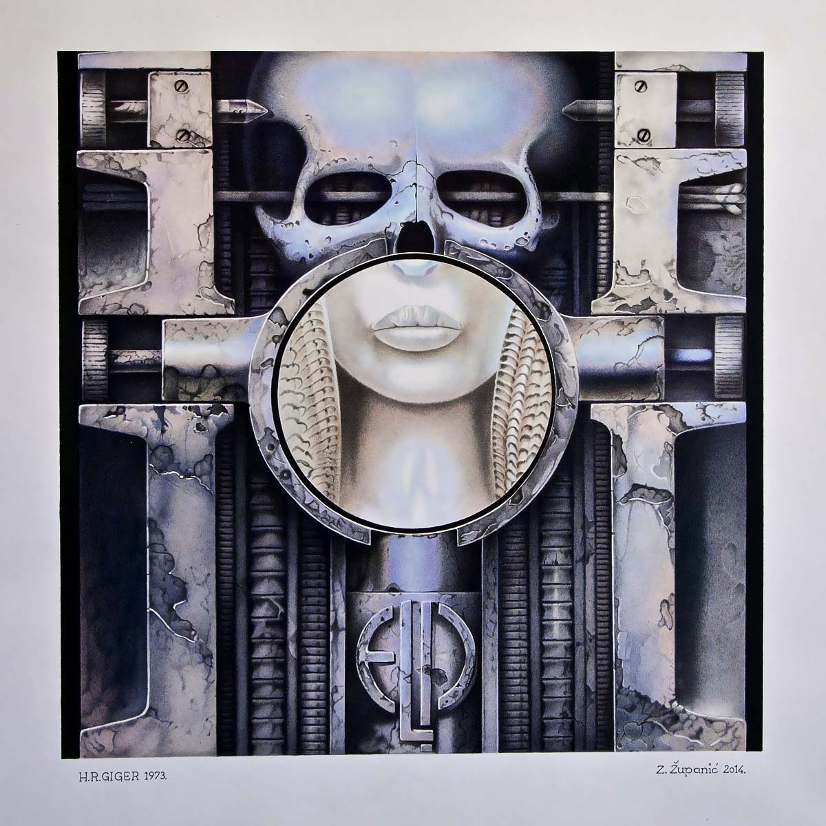 Brain Salad Surgery 32x32 (2014) Available