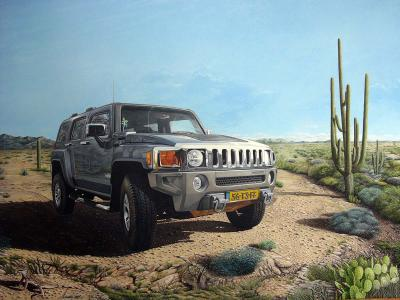 Hummer 80x110 (2008) Sold